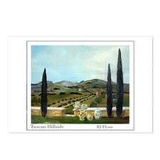 Tuscan Hillside Postcards (Package of 8)