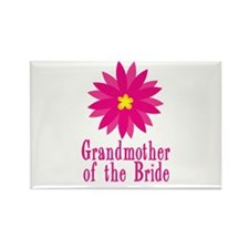 Bride's Grandmother Rectangle Magnet