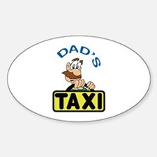 DADS TAXI Decal