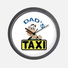 DADS TAXI Wall Clock