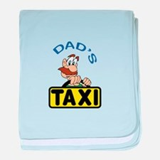 DADS TAXI baby blanket