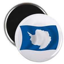 "Antarctica Flag 2.25"" Magnet (100 pack)"