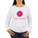 Bride's Mother Women's Long Sleeve T-Shirt