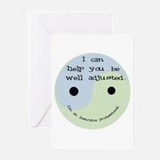 """Well Adjusted"" Greeting Cards (Pk of 10)"