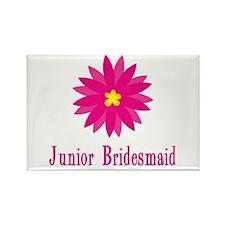 Junior Bridesmaid Rectangle Magnet