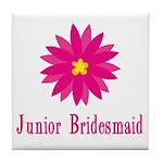 Junior Bridesmaid Tile Coaster