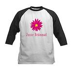 Junior Bridesmaid Kids Baseball Jersey