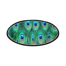 Peacock Feathers Patches