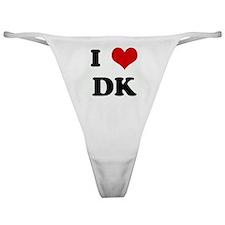 I Love DK Classic Thong