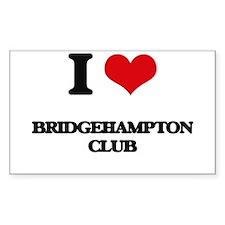 I Love Bridgehampton Club Decal