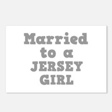 Married to a Jersey Girl Postcards (Package of 8)