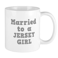 Married to a Jersey Girl Small Mugs