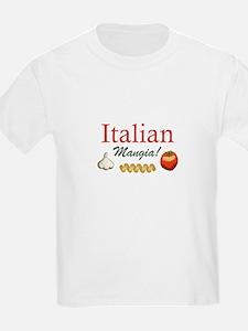 ITALIAN MANGIA T-Shirt