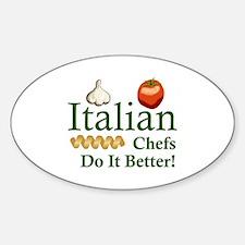 ITALIAN CHEFS Decal