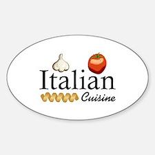 ITALIAN CUISINE Decal