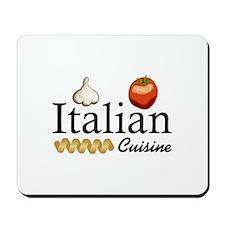 ITALIAN CUISINE Mousepad