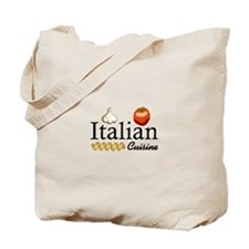 ITALIAN CUISINE Tote Bag