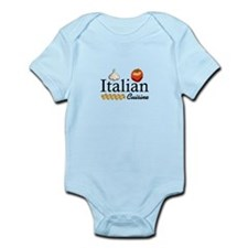 ITALIAN CUISINE Body Suit
