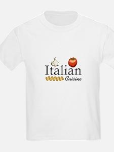 ITALIAN CUISINE T-Shirt
