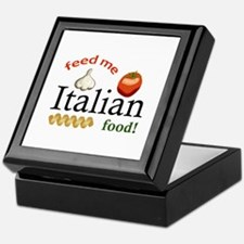 FEED ME ITALIAN Keepsake Box