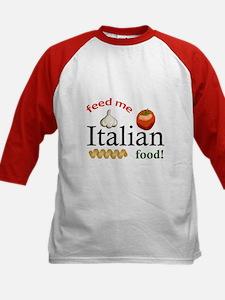 FEED ME ITALIAN Baseball Jersey