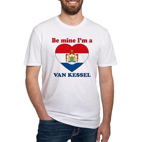 Van Kessel, Valentine's Day Fitted T-Shirt