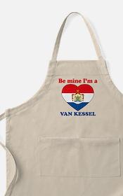 Van Kessel, Valentine's Day BBQ Apron