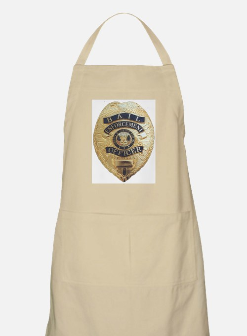 Bail Enforcement Officer BBQ Apron