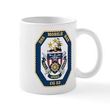 USS Mobile Bay CG-53 Mug