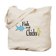 Fish and Chicks Tote Bag