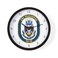 USS Princeton CG-59 Wall Clock