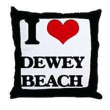 Funny I vacation Throw Pillow