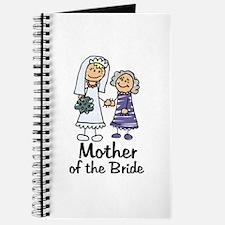 Cartoon Bride's Mother Journal
