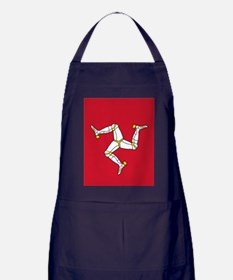 Flag of Mann Apron (dark)