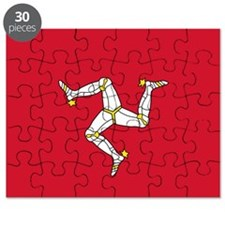 Flag of Mann Puzzle