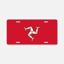 Flag of Mann Aluminum License Plate
