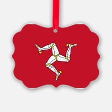 Flag of Mann Ornament