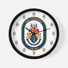 USS Cowpens CG-63 Wall Clock