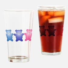 Gender reveal Drinking Glass