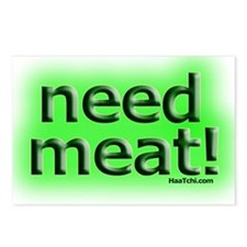 Need meat Postcards (Package of 8)