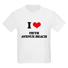I Love Fifth Avenue Beach T-Shirt
