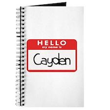 Hello Cayden Journal
