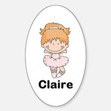 My Girl Personalized Sticker (Oval)