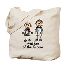 Cartoon Groom's Father Tote Bag