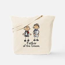 Cartoon Groom's Father Tote Bag