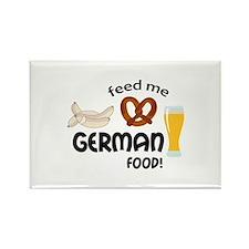FEED ME GERMAN FOOD Magnets