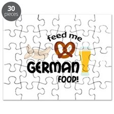 FEED ME GERMAN FOOD Puzzle