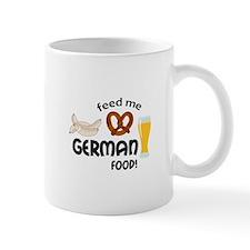 FEED ME GERMAN FOOD Mugs