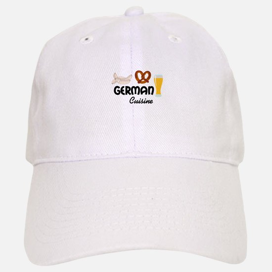 GERMAN CUISINE Baseball Baseball Baseball Cap