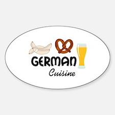 GERMAN CUISINE Decal